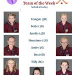 The team of the week in netball and hockey